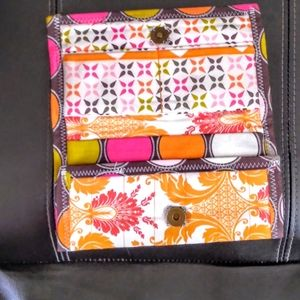 Beautiful Floral Cloth Space for Everything Wallet